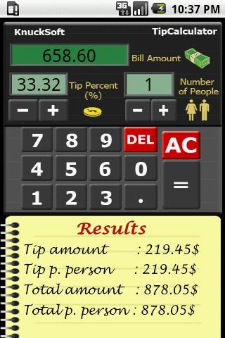 Tip Calculator Free