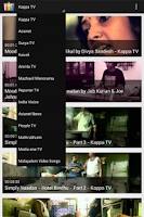 Screenshot of Malayalam TV