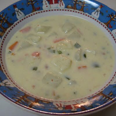 Potato Pepper Jack Soup
