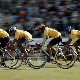 Come on boys... by Rakesh Syal - Sports & Fitness Cycling (  )
