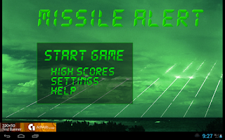 Screenshot of Missile Alert