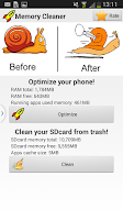 Screenshot of Free Memory Cleaner FAST&EASY