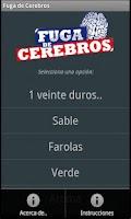 Screenshot of Fuga de Cerebros