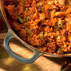 Chicken and Smoked Andouille Jambalaya Recipe