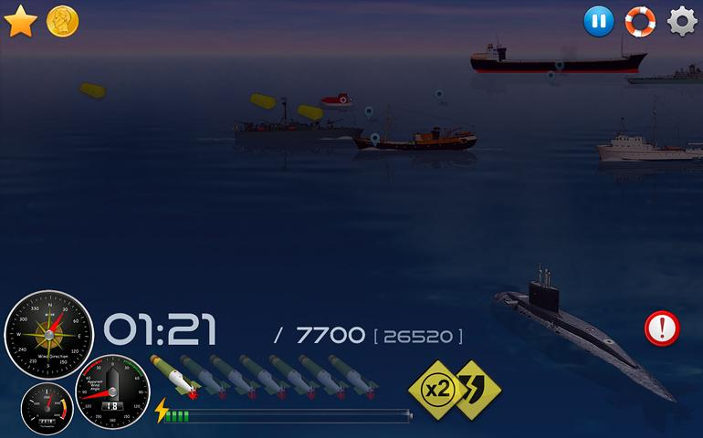 Silent Submarine 2HD Simulator Screenshot 3