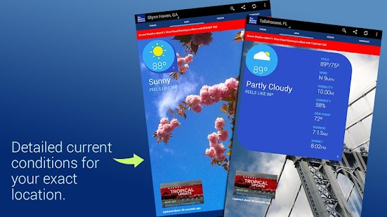 weather channel radar app