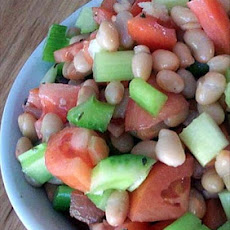 Moosewood White Bean and Tomato Salad