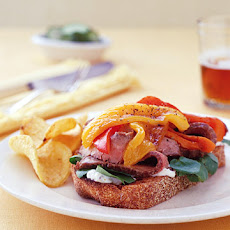 Broiled Flank-Steak Sandwiches