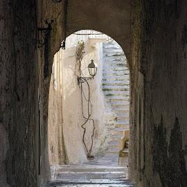 Sperlonga Italy by Giuseppe Ciaramaglia - City,  Street & Park  Historic Districts ( hystoric, italy, city, sperlonga )