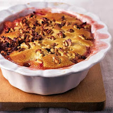 Plum & Apple Cobbler