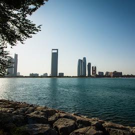 Abu Dhabi Palace View by Vijay Andi - City,  Street & Park  Skylines ( vjsc, abu dhabi, vijay, morning, soul captives, fahaad )