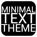 Minimal Text THEME - PAID icon