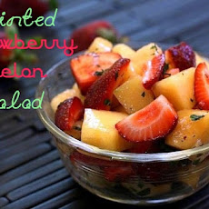 Minted Strawberry Melon Salad