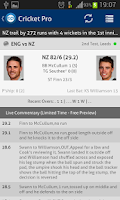 Screenshot of Cricket Pro - Live Scores