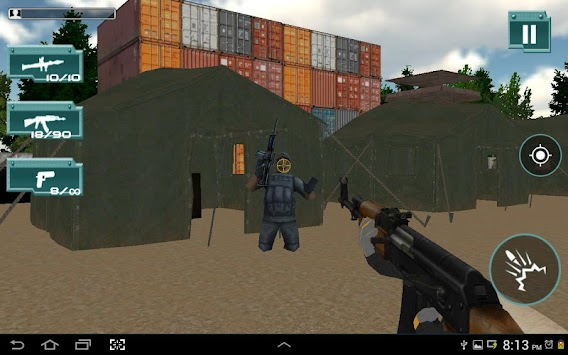 COMMANDO COUNTER STRIKE:ATTACK APK screenshot thumbnail 3