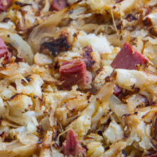 Reuben Cauliflower Corned Beef Hash