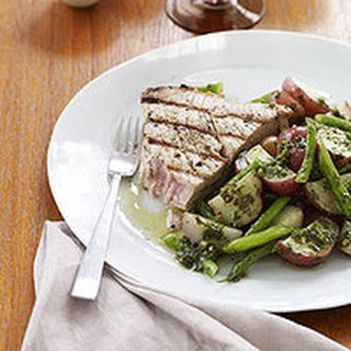 tuna and potato salad with tarragon recipes dishmaps tuna and potato ...