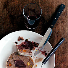 Duck Terrine with Wine-Glazed Shallots
