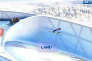 Screenshot of Holmenkollen Ski Jump 2011