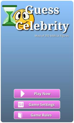 Guess Celebrity Biblical