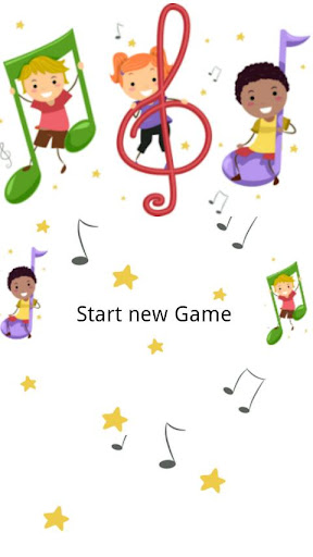Music notes Memory Game