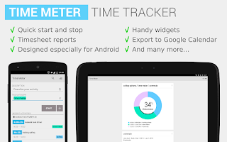 Screenshot of Time Meter Time Tracker