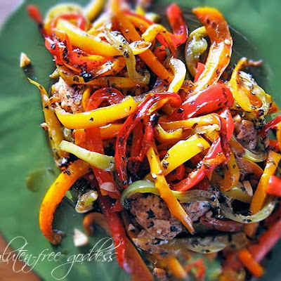Karina's Easy Chicken and Balsamic Peppers