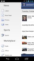 Screenshot of Lacrosse Tribune