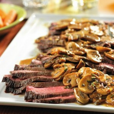 Flank Steak With Mushrooms And Onions Recipes | Yummly