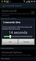 Screenshot of Crescendo Volume