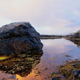 Connemara Co Galway Ireland by Myles Lambert - Landscapes Waterscapes ( wildatlanticway, ireland, connemaracoast, galwaysbeauty, galway, galwaysunset )