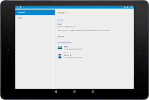 Screenshot of Scatter Clipboard & File Sync