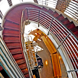 Spiral to the lobby by Rita Colantonio - Buildings & Architecture Other Interior ( stairway, abstraction, spiral,  )