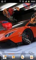 Screenshot of Super Cars Live Wallpaper