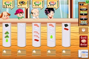 Screenshot of Sushi Dash