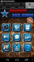 Screenshot of Cowboy Bail Bonds
