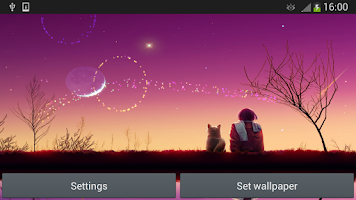Screenshot of Meteor Shower FireWorks