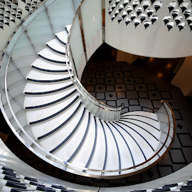 A stair in Tate Gallery, London by Almas Bavcic - Buildings & Architecture Other Interior