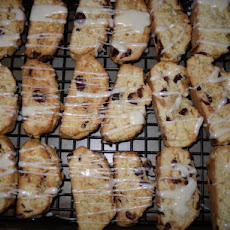 White Chocolate Cranberry Almond Biscotti