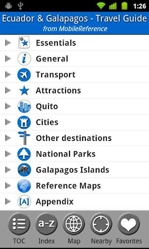 Ecuador Galapagos - Guide