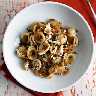 Orecchiette With Grated Squash, Walnuts and Ricotta Salata