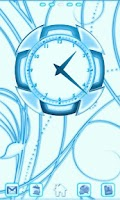 Screenshot of Blue Chill Clock 2