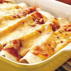 Turkey Cream Cheese Enchiladas