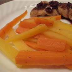 Lemon Carrots and Rutabaga