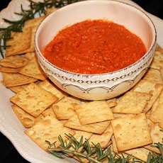 Romesco Roasted Red Pepper and Almond Spread