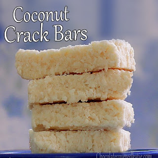 No-Bake Coconut Crack Bars