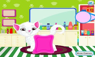 Screenshot of Cat Hair Salon