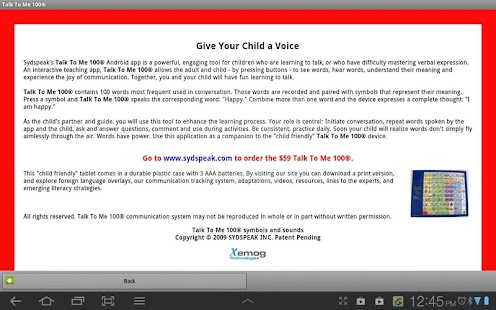 Talk To Me 100® Lite - Autism - screenshot