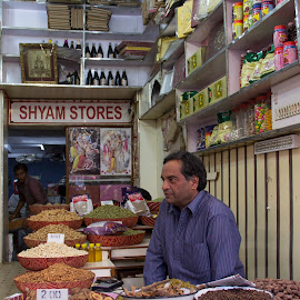 Spice Market New Delhi by Janet Marsh - Food & Drink Ingredients ( india, spices,  )