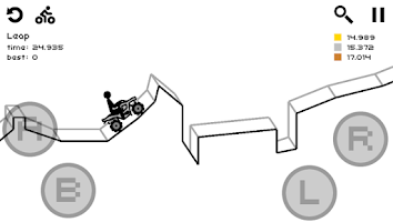 Screenshot of Draw Rider